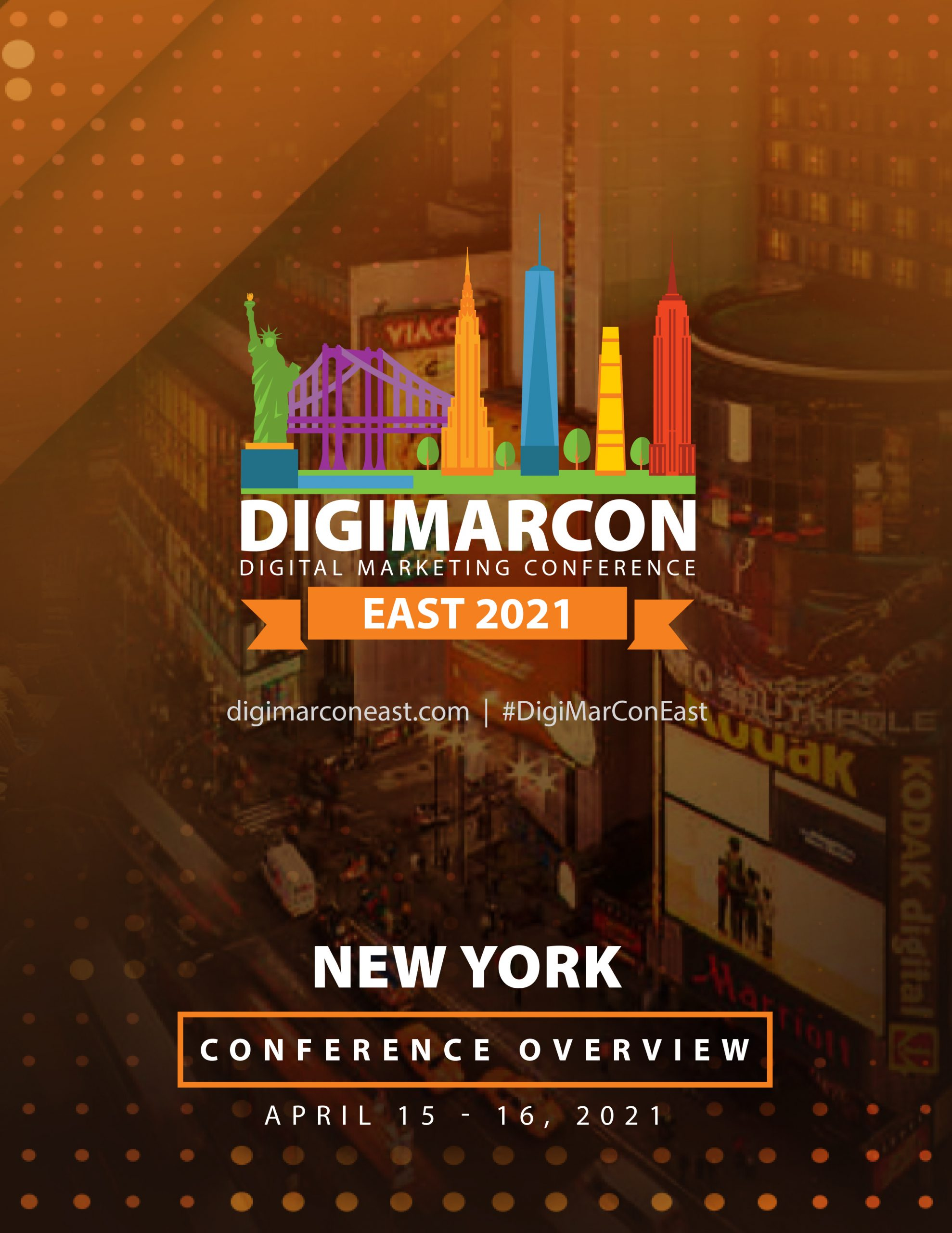 DigiMarCon New York 2022 Brochure